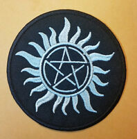 Supernatural Dean's Tattoo Black Embroidered patch 3 inches wide