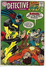 Detective Comics #371 signed by Carmine Infantino 1968 DC Comics.