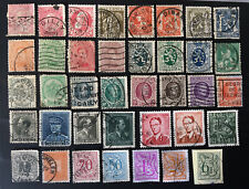 Belgium Older Stamps Used. Nice Assortment