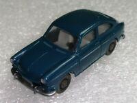 Wiking ( 43/1 B )  - VW 1600 TL runde Haube, blau , 60er Jahre