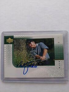 2001 Upper Deck Golf Player's Ink Auto - Nick Faldo