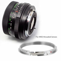 M42 Lens To Pentax PK K Mount Adapter Ring Focus  M42-PK Accessory GS