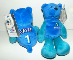 CHARLOTTE HORNETS Baron Davis #1 Given To FIRST 2500 Fans In 1999- Plush NWT NEW