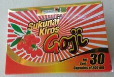 SUKUNAI KIROS GOJI MAX 30 CAPSULES Baje de Peso !!!!