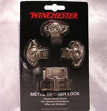Winchester 3 Pack Rifle Shotgun Pistol Gun Trigger Locks Win-Mtl