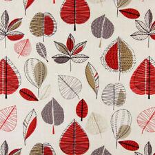 Prestigious Textiles Maple Red Berry 100% Cotton Fabric