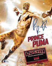 Prince Puma Signed 8x10 Photo BAS COA Ricochet Pro Wrestling Lucha Underground 5