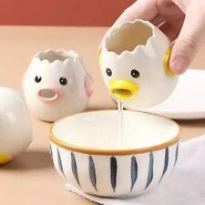 Dibujos animados de cerámica de cocina Separador Yema de Huevo Blanco Divisores Pollo Herramientas De Cocina