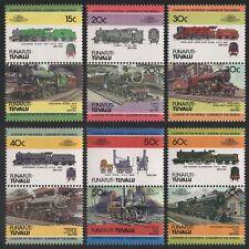 Tuvalu - Funafuti 1984 - Mi-Nr. 1-12 ** - MNH - Lokomotiven / Locomotives