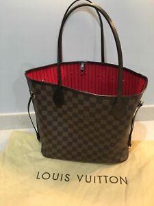 Louis Vuitton Neverfull MM Damier, pristine!