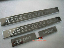 Door sill scuff plate Guards For Land Range Rover sport  L320 2006-2012