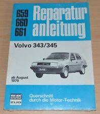 Volvo 343 345 B14 B19 ab1979 Motor Getriebe Kupplung Reparaturanleitung B659