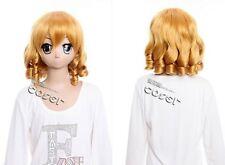 W-310 Rozen Maiden Hinaichigo Cosplay Wig manga lolita Curl Blonde 35cm
