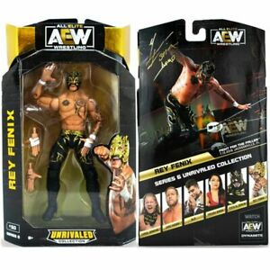 AEW Unrivaled 6 Rey Fenix Wrestling Action Figure Wrestler Kid Toy AEW 6
