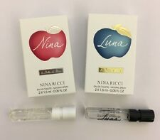Nina Ricci Nina & Luna Boxed 2 x 1.5ml EDT Sample Spray (2 mini sprays per box)