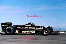 Mario Andretti JPS Lotus 79 USA East Grand Prix Watkins Glen 1978 Photograph 3