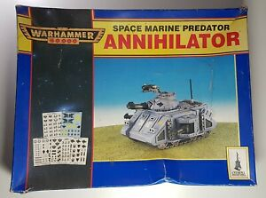 Warhammer 40k Space Marine Predator Annihilator tank