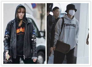 AU stock Men Women Thrasher Hoodie jumper Sweater Hip-hop Skateboard Pullovers