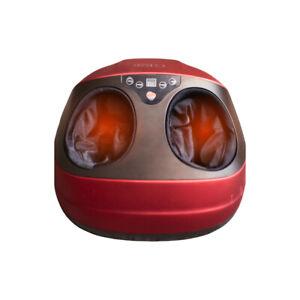 Velvet Foot Massager, Shiatsu Kneading Roller Massage with Heat, Air Compression