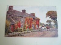 A R QUINTON Postcard 2244 Early Home of Rt Hon D Lloyd George Nr Criccieth A2336
