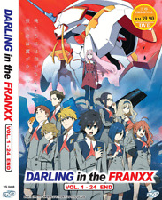 ANIME DVD Darling in the Franxx Vol.1-24 End ~ENGLISH DUBBED~ Reg All + FREE DVD