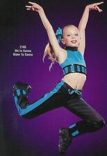 GROUP LOT of 5 - Adult XL Hip Hop Drawstring Pant Crop Top Dance Costume