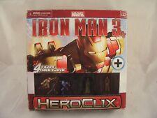 Marvel Iron Man 3 Heroclix 4 figure mini game