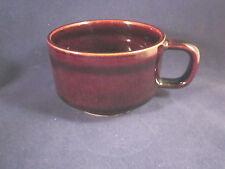 Pfaltzgraff COMPATIBLES COFFEE 4 Flat Cups Dark Brown USA