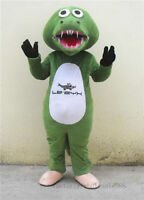 Crocodile Alligator Fat Mascot Halloween Costume Suit Adult Birthday Party Dress