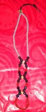 Fashion Jewellery. Footless Thong. Pretty Beads. Beachwear.