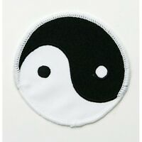 "Ying Yang Martial Arts Patch - 2 Sizes 3"" & 4"""
