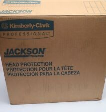 New (Box /12) Kimberly Clark Jackson Safety 14409 Q40 SENTRY III 3000064 Helmets