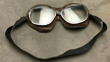 FLYING MOTORCYCLE MOTOR RACING SIDECAR VINTAGE SAFETY GOGGLES