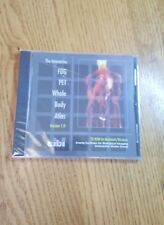 Interactive FDG PET Whole Body Atlas 100 Case St. CIBI Crump Inst. 1999 UNOPENED