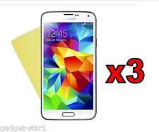 3x Hq Cristal Protector De Pantalla Transparente Tapa Film Protector Para Samsung Galaxy S4 Mini