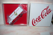 1997 Coca Cola Springtime Atlanta  Diecast 6 Wheel Straight Van Truck