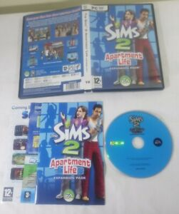The Sims 2 Apartment Life Expansion Pack (PC 2008) Boxed & Instruction Booklet