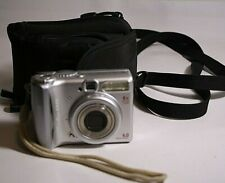 Canon PowerShot A540 Digital Camera Silver w/ lowepro case FREE SHIPPING, USED