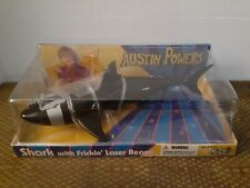 """Austin Powers Shark figure with """"Frickin' Laser Beams"""" in box"""
