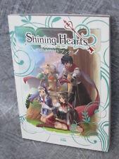 SHINING HEARTS Saisoku Game Guide Book Japan Play Station Portable EB9873*