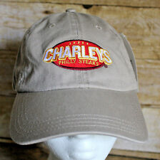 Charleys Philly Steaks Ball Cap Adjustable Hat - NEW