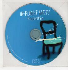 (GO816) In-Flight Safety, Paperthin - 2011 DJ CD