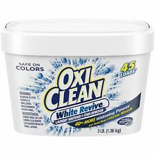 OxiClean White Revive Laundry Whitener Stain Remover, 3-Pounds