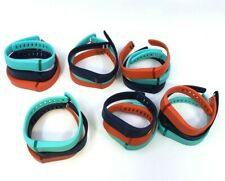 """Lot of 3 Fitbit Flex Accessory Wristbands - Size Large - Navy, Teal & Redâ""""¢"""