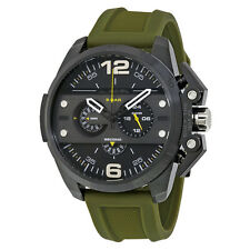 Diesel DZ4391 Ironside Black Dial Olive Green Rubber Strap Men's Watch