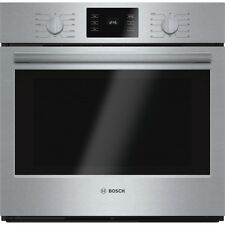 """BOSCH 500 Series 30"""" Wide Single Electric Wall Oven w/ Convection HBL5451UC, NEW"""