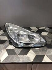 Vauxhall Corsa D Drivers Side Headlight 2011-2015 Chrome GM 13392708 D205