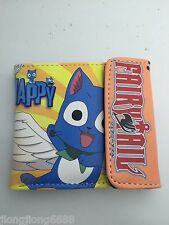 New anime Fairy Tail womens mens boys wallets Coin purse Free shipping