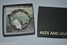 Alex and Ani RETIRED RS Bracelet Silver Heart's Beat Wrap Indie collection NWT