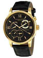 Calvaneo 1583 Valencia II Gold Black Grandiose Herren Automatikuhr NEU & OVP